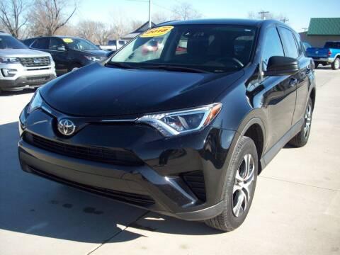 2018 Toyota RAV4 for sale at Nemaha Valley Motors in Seneca KS