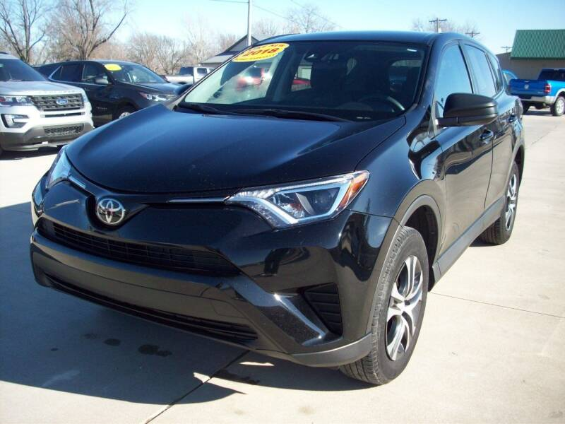 2018 Toyota RAV4 for sale at Nemaha Valley Motors in Seneca KS