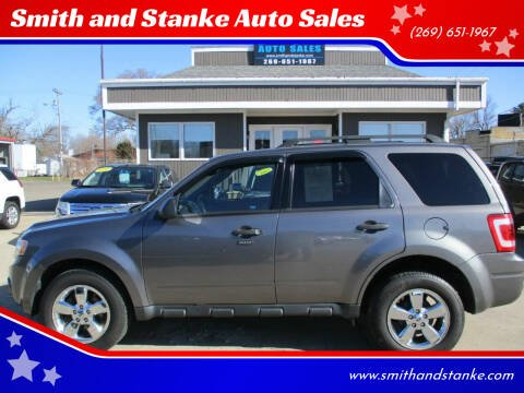 2010 Ford Escape for sale at Smith and Stanke Auto Sales in Sturgis MI
