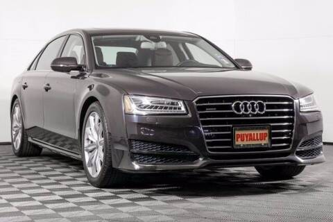 2017 Audi A8 L for sale at Washington Auto Credit in Puyallup WA