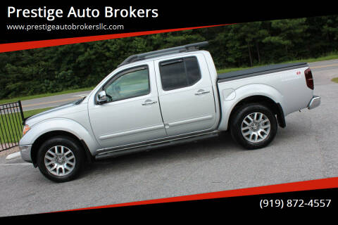 2010 Nissan Frontier for sale at Prestige Auto Brokers in Raleigh NC