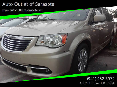 2012 Chrysler Town and Country for sale at Auto Outlet of Sarasota in Sarasota FL