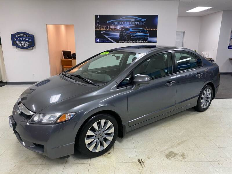 2010 Honda Civic for sale at Used Car Outlet in Bloomington IL