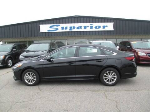 2019 Hyundai Sonata for sale at SUPERIOR CHRYSLER DODGE JEEP RAM FIAT in Henderson NC