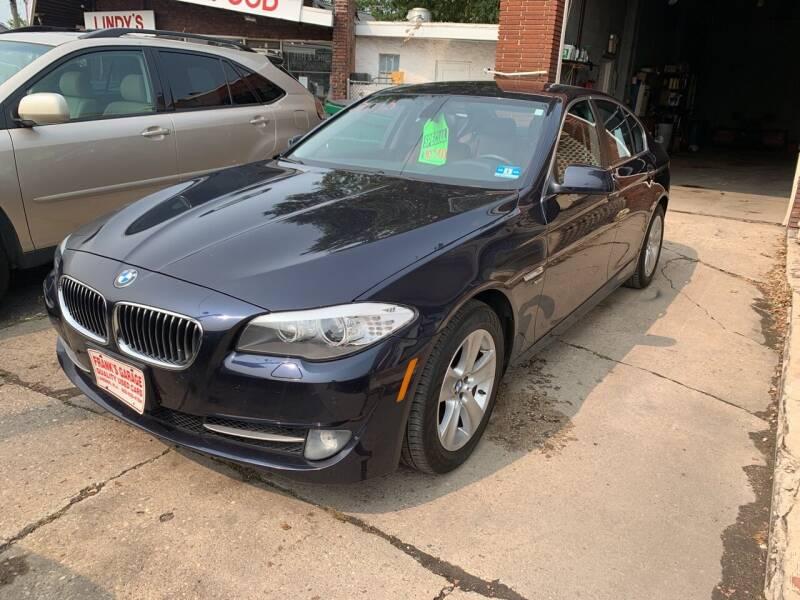 2012 BMW 5 Series for sale at Frank's Garage in Linden NJ