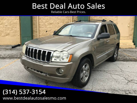 2006 Jeep Grand Cherokee for sale at Best Deal Auto Sales in Saint Charles MO