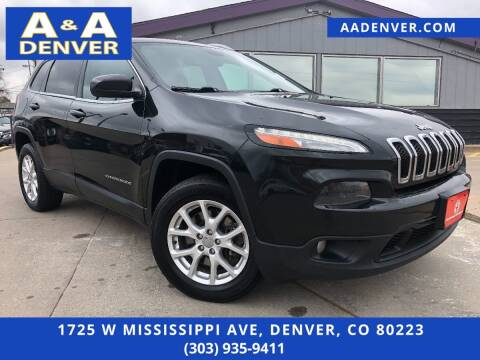2015 Jeep Cherokee for sale at A & A AUTO LLC in Denver CO