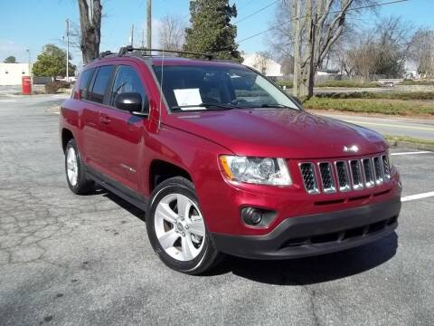 2011 Jeep Compass for sale at CORTEZ AUTO SALES INC in Marietta GA