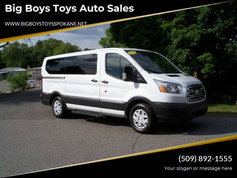 2015 Ford Transit Passenger for sale at Big Boys Toys Auto Sales in Spokane Valley WA