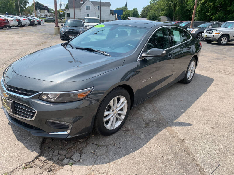 2018 Chevrolet Malibu for sale at PAPERLAND MOTORS - Fresh Inventory in Green Bay WI