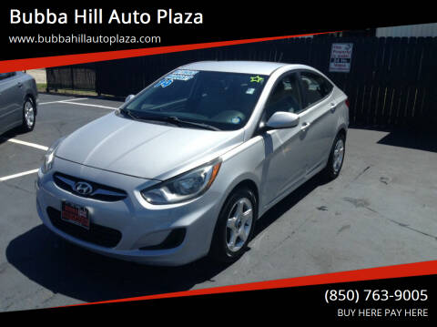 2014 Hyundai Accent for sale at Bubba Hill Auto Plaza in Panama City FL