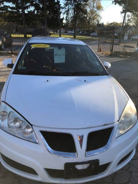 2010 Pontiac G6 for sale at Carfast Auto Sales in Dolton IL