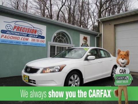 2010 Honda Accord for sale at Precision Automotive Group in Youngstown OH