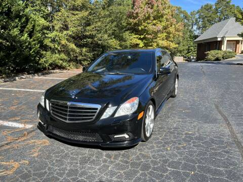 2011 Mercedes-Benz E-Class for sale at SMT Motors in Roswell GA