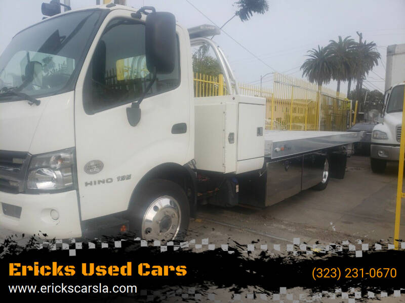 2016 Hino 195 for sale at Ericks Used Cars in Los Angeles CA