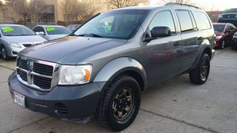 2008 Dodge Durango for sale at Carspot Auto Sales in Sacramento CA