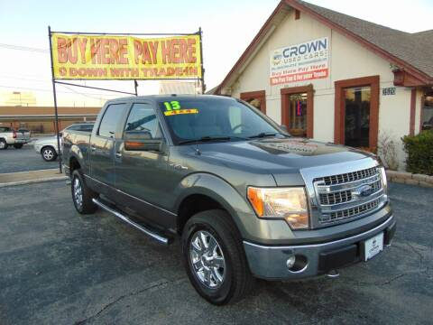 2013 Ford F-150 for sale at Crown Used Cars in Oklahoma City OK