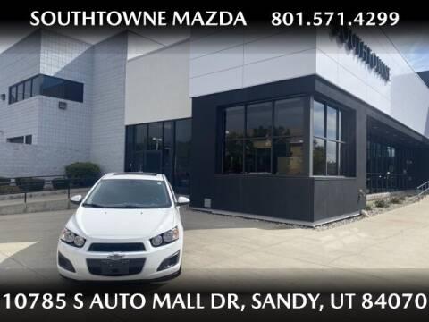 2016 Chevrolet Sonic for sale at Southtowne Mazda of Sandy in Sandy UT
