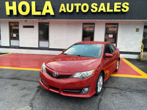 2014 Toyota Camry for sale at HOLA AUTO SALES CHAMBLEE- BUY HERE PAY HERE - in Atlanta GA