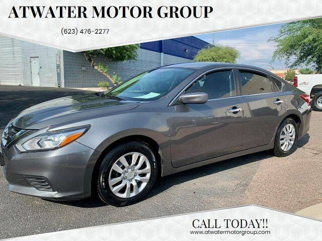 2017 Nissan Altima for sale at Atwater Motor Group in Phoenix AZ