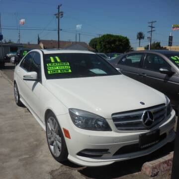 2011 Mercedes-Benz C-Class for sale at Luxor Motors Inc in Pacoima CA