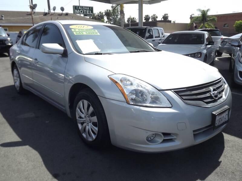 2012 Nissan Altima for sale at PACIFICO AUTO SALES in Santa Ana CA