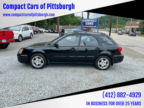 2005 Subaru Impreza for sale at Compact Cars of Pittsburgh in Pittsburgh PA