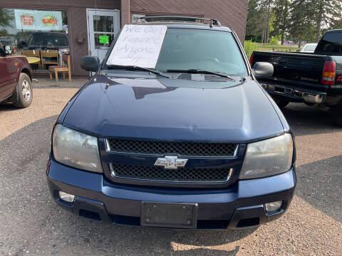 2008 Chevrolet TrailBlazer for sale at Continental Auto Sales in White Bear Lake MN