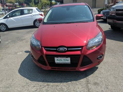 2012 Ford Focus for sale at Auto City in Redwood City CA