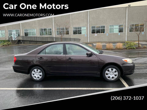 2002 Toyota Camry for sale at Car One Motors in Seattle WA