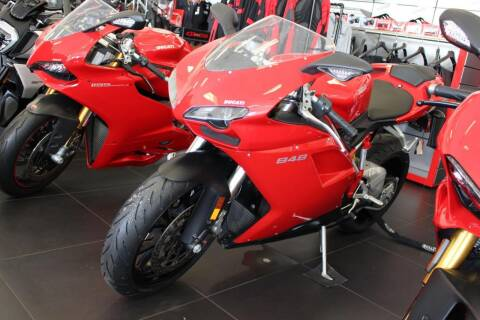 2010 Ducati 848 for sale at Peninsula Motor Vehicle Group in Oakville NY