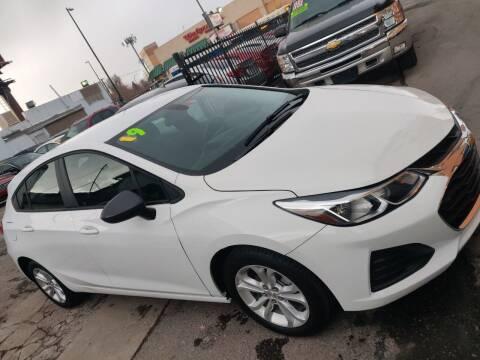 2019 Chevrolet Cruze for sale at Sanaa Auto Sales LLC in Denver CO