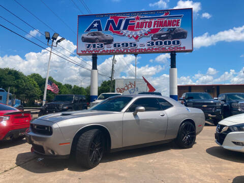 2015 Dodge Challenger for sale at ANF AUTO FINANCE in Houston TX