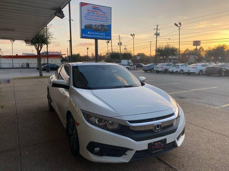 2016 Honda Civic for sale at Magic Auto Sales in Dallas TX