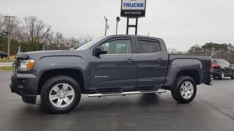 2016 GMC Canyon for sale at Whitmore Chevrolet in West Point VA