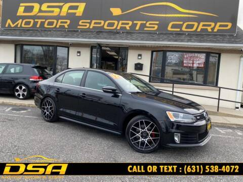 2012 Volkswagen Jetta for sale at DSA Motor Sports Corp in Commack NY