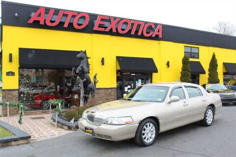 2010 Lincoln Town Car for sale at Auto Exotica in Red Bank NJ