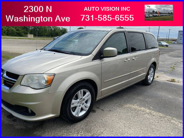 2013 Dodge Grand Caravan for sale at Auto Vision Inc. in Brownsville TN