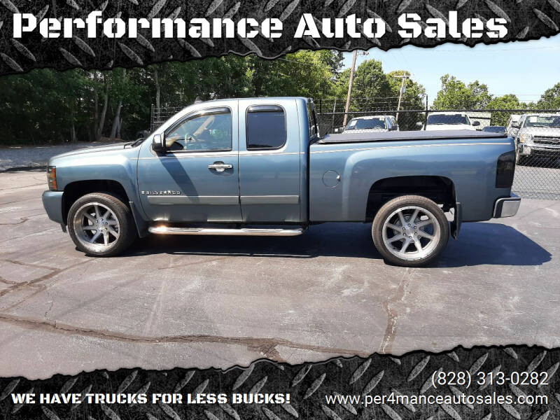 2008 Chevrolet Silverado 1500 for sale at Performance Auto Sales in Hickory NC