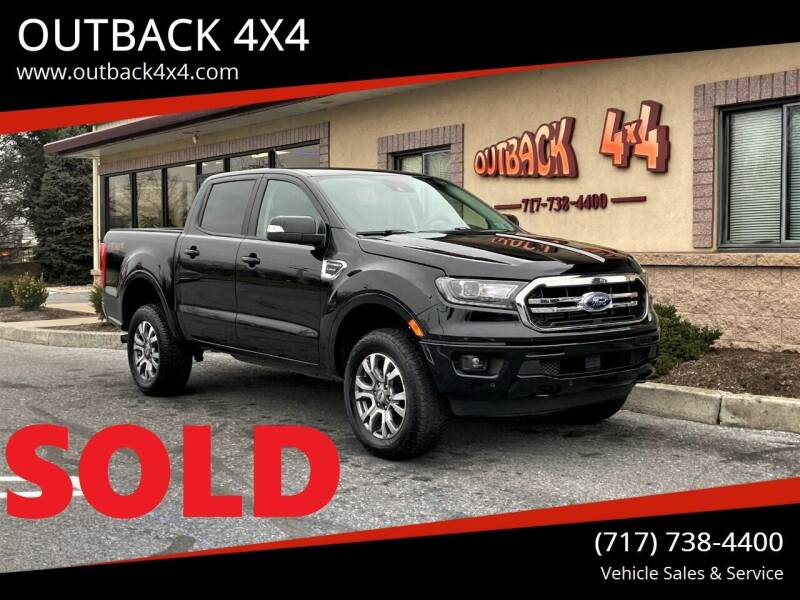 2020 Ford Ranger for sale at OUTBACK 4X4 in Ephrata PA