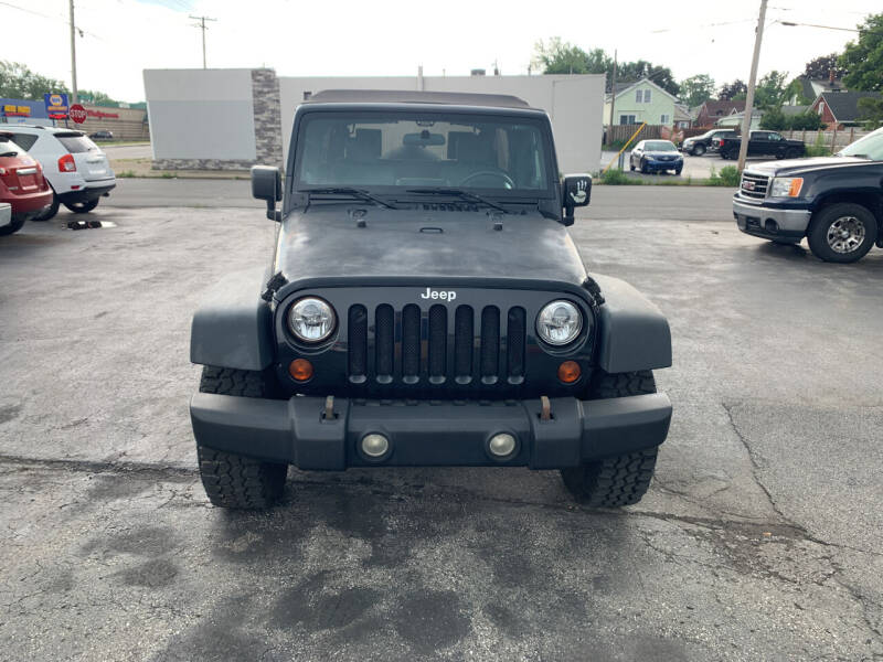 2009 Jeep Wrangler Unlimited for sale at L.A. Automotive Sales in Lackawanna NY