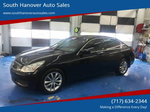 2009 Infiniti G37 Sedan for sale at South Hanover Auto Sales in Hanover PA
