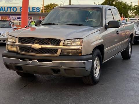 2003 Chevrolet Silverado 1500 for sale at KD's Auto Sales in Pompano Beach FL