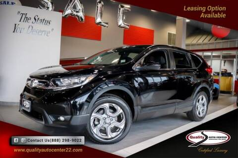 2018 Honda CR-V for sale at Quality Auto Center of Springfield in Springfield NJ