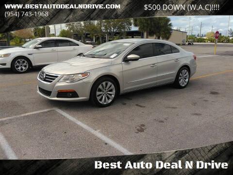 2010 Volkswagen CC for sale at Best Auto Deal N Drive in Hollywood FL