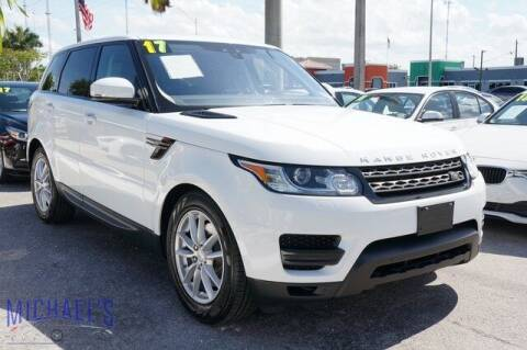 2017 Land Rover Range Rover Sport for sale at Michael's Auto Sales Corp in Hollywood FL