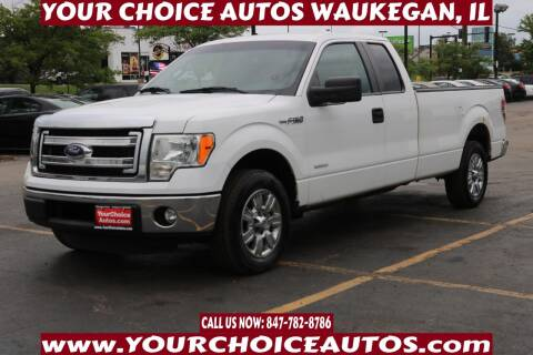 2013 Ford F-150 for sale at Your Choice Autos - Waukegan in Waukegan IL