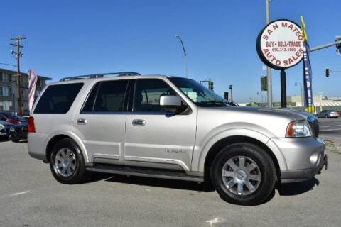 2003 Lincoln Navigator for sale at San Mateo Auto Sales in San Mateo CA