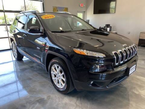 2015 Jeep Cherokee for sale at Crossroads Car & Truck in Milford OH