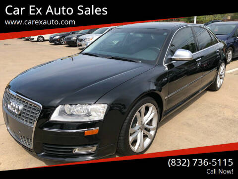 2008 Audi S8 for sale at Car Ex Auto Sales in Houston TX